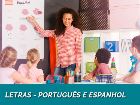 Letras - Português e Espanhol (Licenciatura - 48 meses)