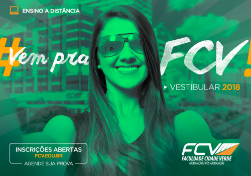 Aberto o 1º vestibular do EAD da FCV
