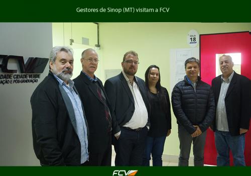 FCV firma parceria e Sinop (MT) ganha polo
